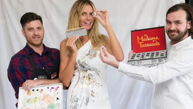 Heidi Klum Madame Tussauds berlin Ankündigung