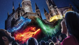 Hogwarts Universal Studios HOllywood Show Nacht 2017 Artwork