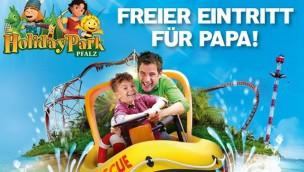 Für Väter gratis: Holiday Park Vatertags-Aktion 2017 ermöglicht freien Eintritt bis 30. Juni