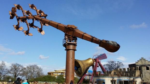 Kärnapulten im Hansa-Park
