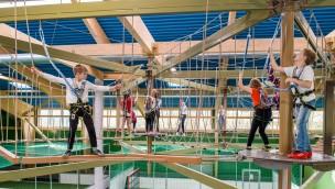 Indoor-Spielparadies neben Rasti-Land erweitert: Eröffnung der zweiten Kids-Dinoworld-Halle