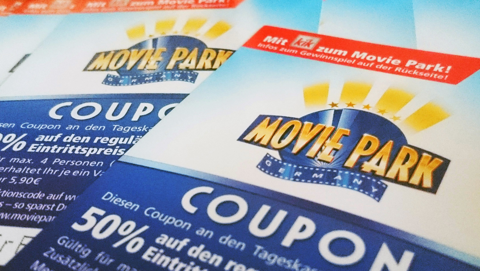 Movie park rabatt coupons 2019