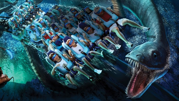 Kraken Unleashed SeaWorld Orlando