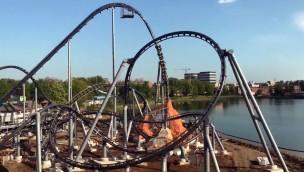 Lech Coaster Legendia - Testfahrten