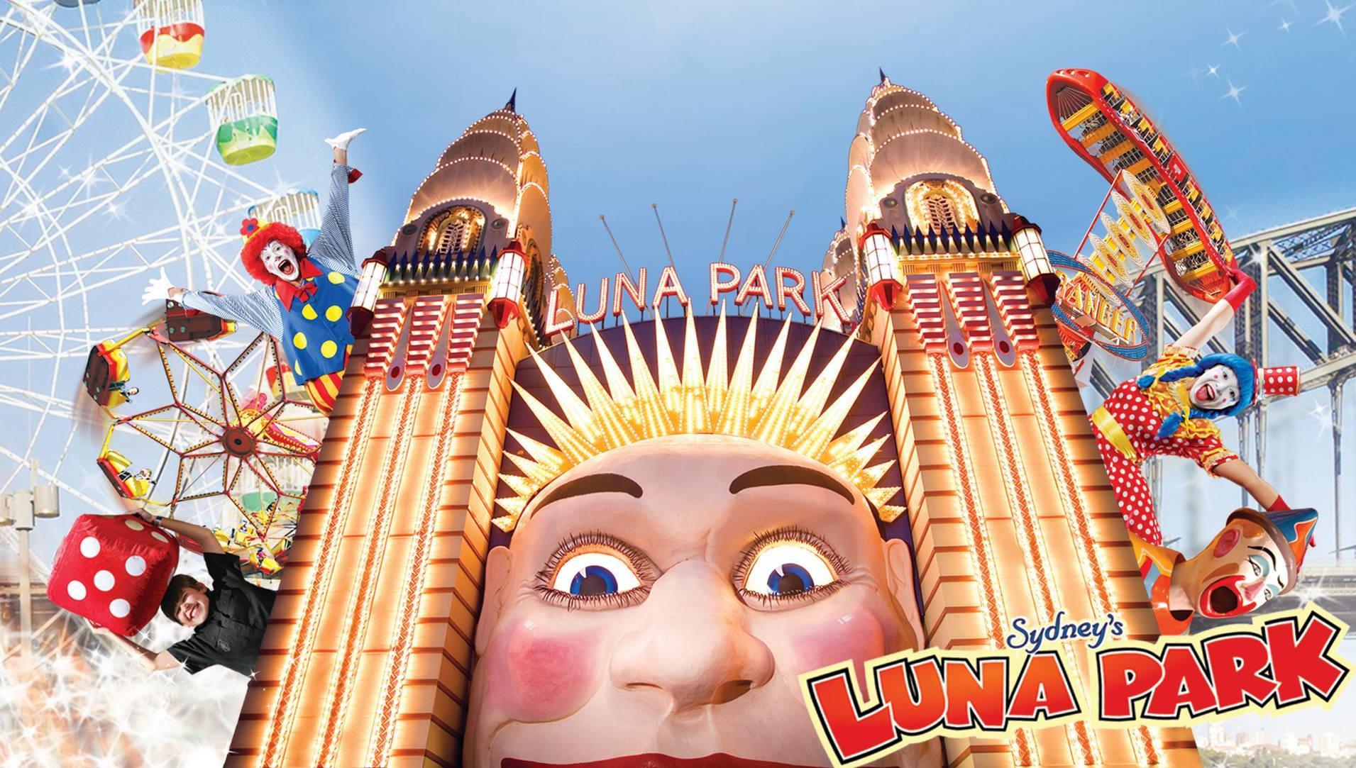 Luna Park Sydney investiert Mio. in neue 6 Fahrgeschäfte ... | 1911 x 1083 jpeg 606kB