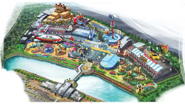 Movie Animation Park Studios Perak Malayia Parkplan