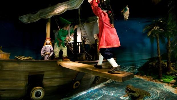 Peter Pan in Liseberg Sagoslottet