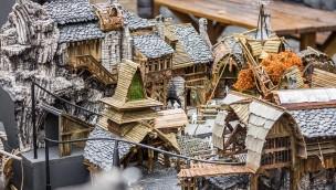 """""""Klugheim"""" im Miniaturformat: Phantasialand zeigt neue Mittelalter-Themenwelt im Modell"""