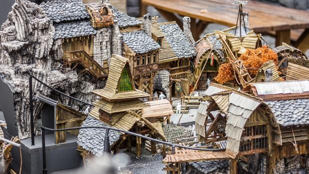Modell zu Klugheim im Phantasialand