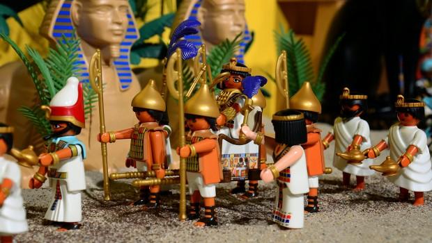 PLAYMOBIL Spielgeschichte Oliver Schaffer Ägypten