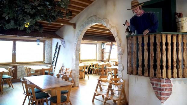 Schwaben-Park Restaurant Gastraum