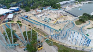 SeaWorld San Antonio Wave Breaker