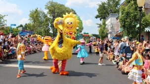 Sesame Place Parade in Langhorne