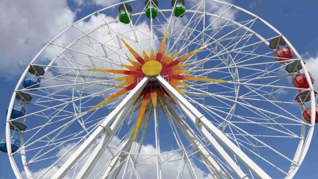 Sonnenlandpark Lichtenau - Riesenrad - Ausschnitt