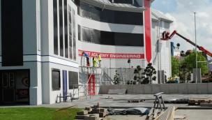 Star Trek Federation Plaza Movie Park Germany Baustelle Mai 2017