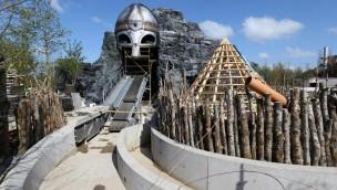 """""""The Viking Voyage"""" im Tayto Park eröffnet im Juni 2017: Thematisierung von neuer Wasserbahn schreitet voran"""