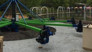 Erstes Sky Racer-Fahrgeschäft eröffnet am 20. Mai 2017 in Tivoli Friheden