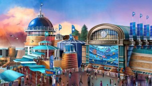 Tokyo DisneySea Park Nemo & Friends SeaRider