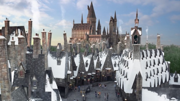 Universal Studios Orlando Harry Potter Weihnachten Animation