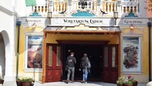 Voletarium-Laden im Europa-Park 2017