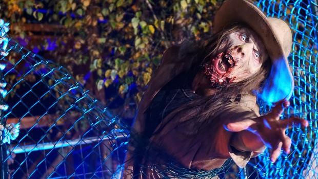 Walibi Holland Fright Nights - Monster - Zaun
