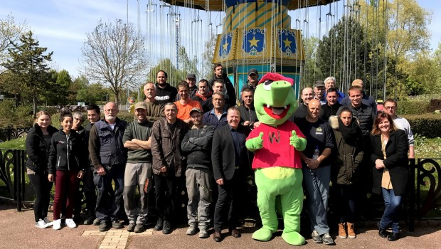 Walygator Parc Team zum Saisonstart 2017