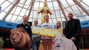 Zoo Osnabrück: Schüler organisieren Kino-Veranstaltung zugunsten neuer Löwenanlage