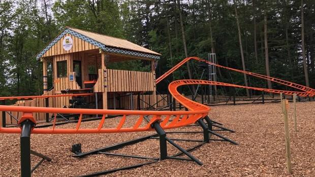 Achterbahn Knuthenborg Safaripark Layout