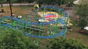 Alpen-Coaster im Zoo Safaripark Stukenbrock