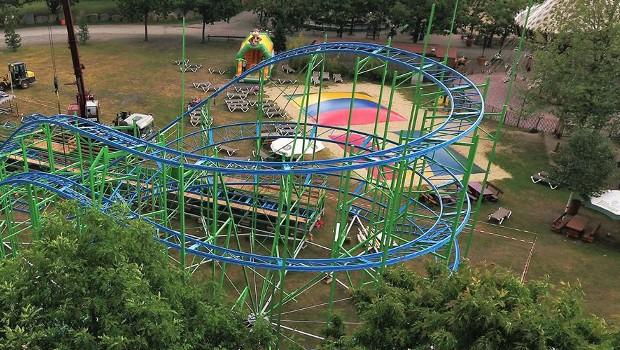 """""""Alpen-Coaster"""" im Zoo Safaripark Stukenbrock"""
