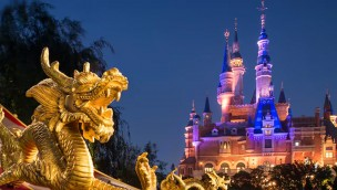 Disneyland Shanghai Castle Dragon