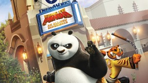 DreamWorks Theatre Kung Fu Panda Universal Studios Hollywood