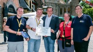 """Europa-Park nimmt FKF-Award 2016 entgegen: """"Irland – Welt der Kinder"""" ausgezeichnet"""