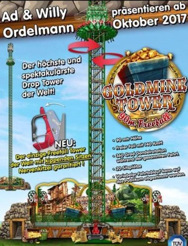 """""""Goldmine Tower"""" von Ordelmann"""
