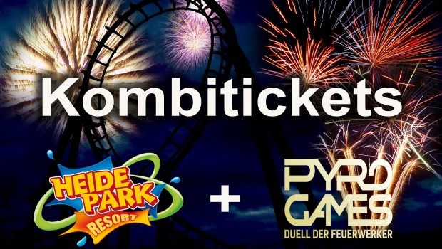 Heide Park Pyro Games 2017 Kombi-Tickets