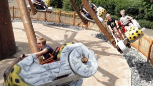 Hobelflug in potts park