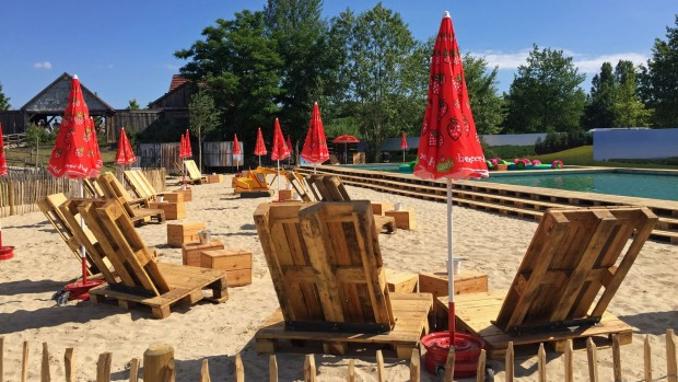 Karls Erlebnis-Dorf Rövershagen Plansch Strandbereich