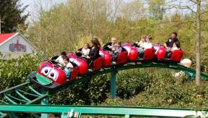 """Walibi Belgium verschiebt Wiedereröffnung von """"La Coccinelle"""": Kinder-Achterbahn kehrt 2018 nicht zurück"""