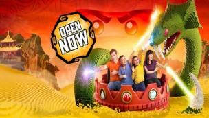 """LEGOLAND Windsor 2017 neu mit Themenbereich """"LEGO Ninjago World"""": Interaktive Themenfahrt als Hauptattraktion eröffnet"""