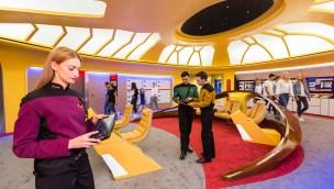 Movie Park Germany Star Trek Operation Enterprise Brücke Pressebild