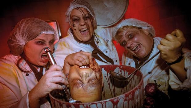Movie Park Halloween Slaughterhouse Eintopf