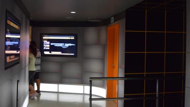 """""""Star Trek""""-Wartebereich im Movie Park"""