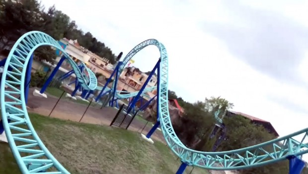 Parc Astérix Pegase Express OnRide-Video