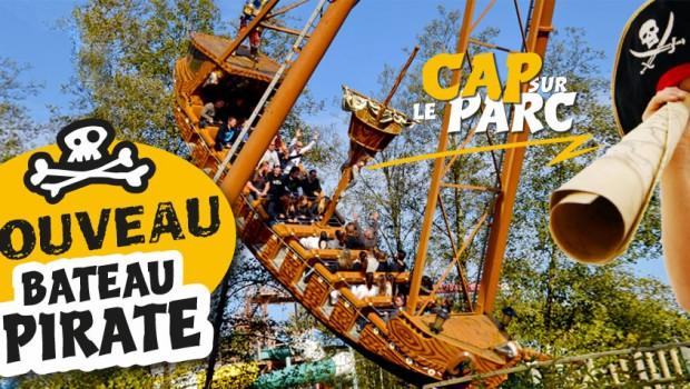 Parc de la Vallée Schiffschaukel Bateau Pirate