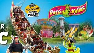 Parc de la Vallée 2017 mit vier Neuheiten: Schiffschaukel, Sommerrodelbahn und zwei Kinder-Attraktionen