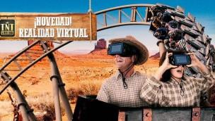 Parque de Atracciones de Madrid VR Coaster Tren de la Mine