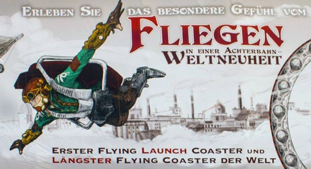 Phantasialand Fly Artwork Rookburgh