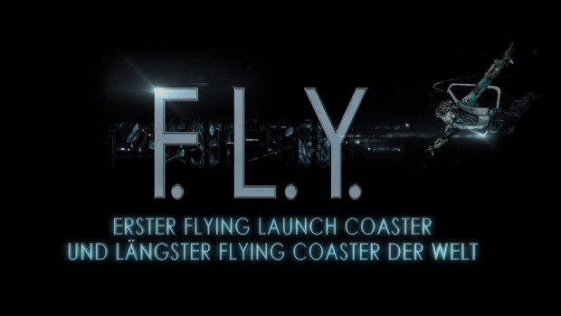 Phantasialand FLY Flying Coaster Achterbahn Ankündigung