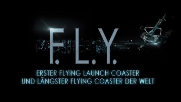 Phantasialand FLY Flying Coaster Achterbahn Ankündigung