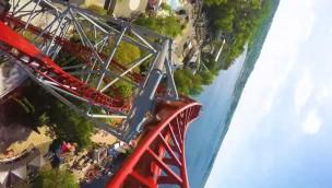 """Särkänniemi zeigt """"Hype"""" im OnRide: Neuer Triple-Launch-Coaster aus der Mitfahr-Perspektive"""